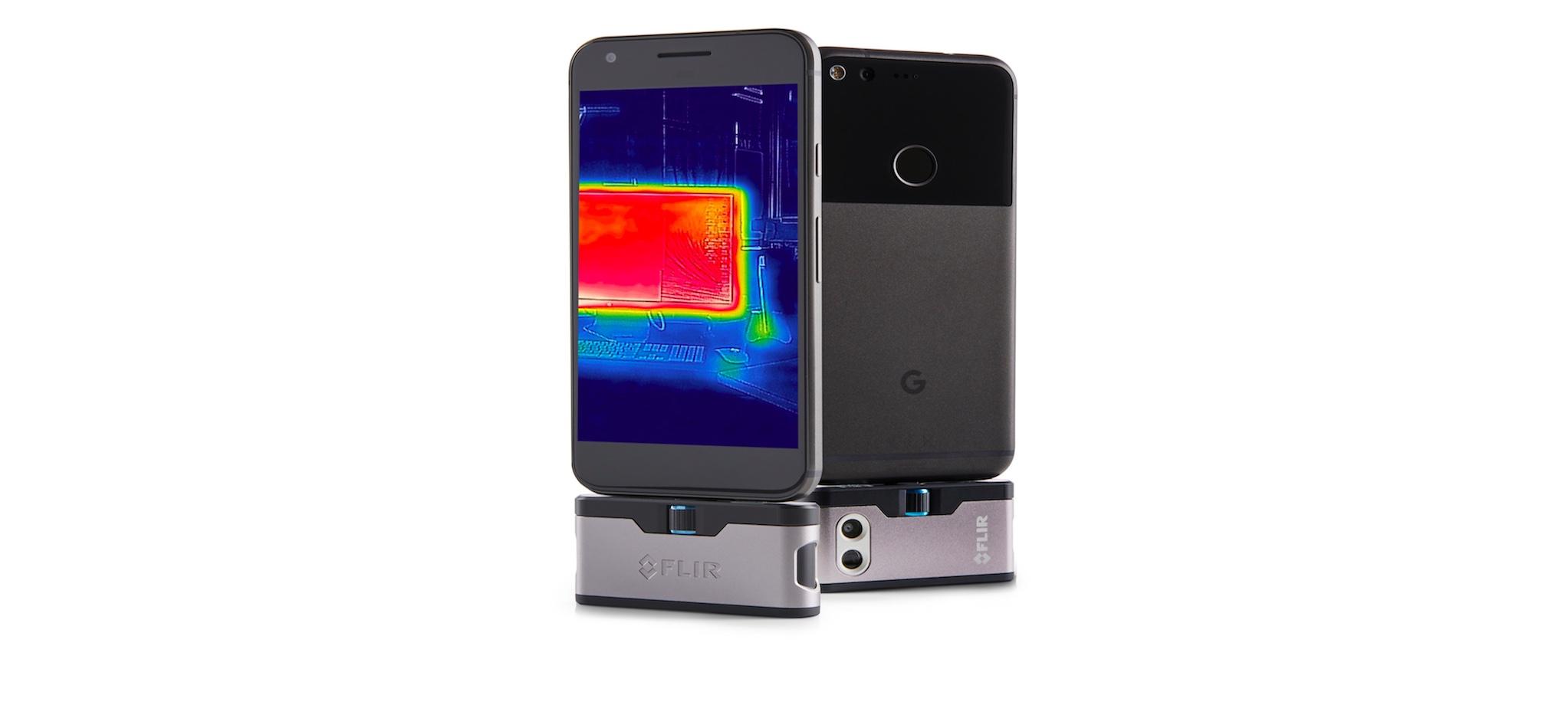 Как из смартфона сделать тепловизор?